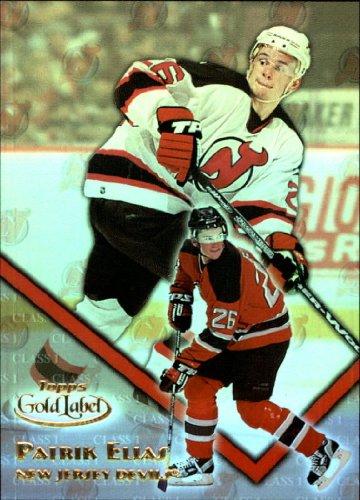2000 Topps Gold Label Class 1 Hockey Card (2000-01) #10 Patrik Elias Near Mint/Mint 2000 Topps Gold Label