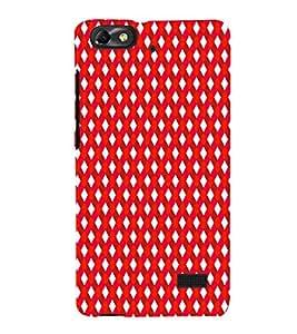 EPICCASE stripe daimonds Mobile Back Case Cover For Xiaomi Redmi Mi4c (Designer Case)