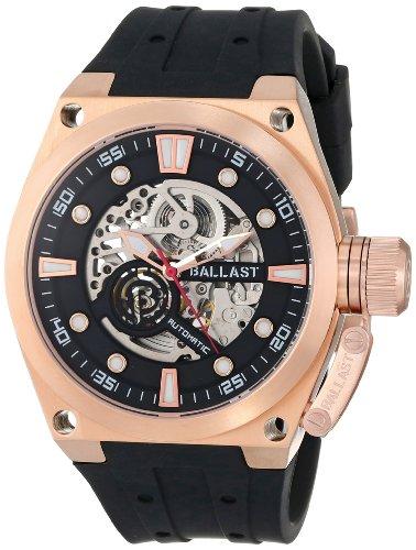 Ballast Men's BL-3105-02 Valiant Analog Automatic Self-Wind Black Watch