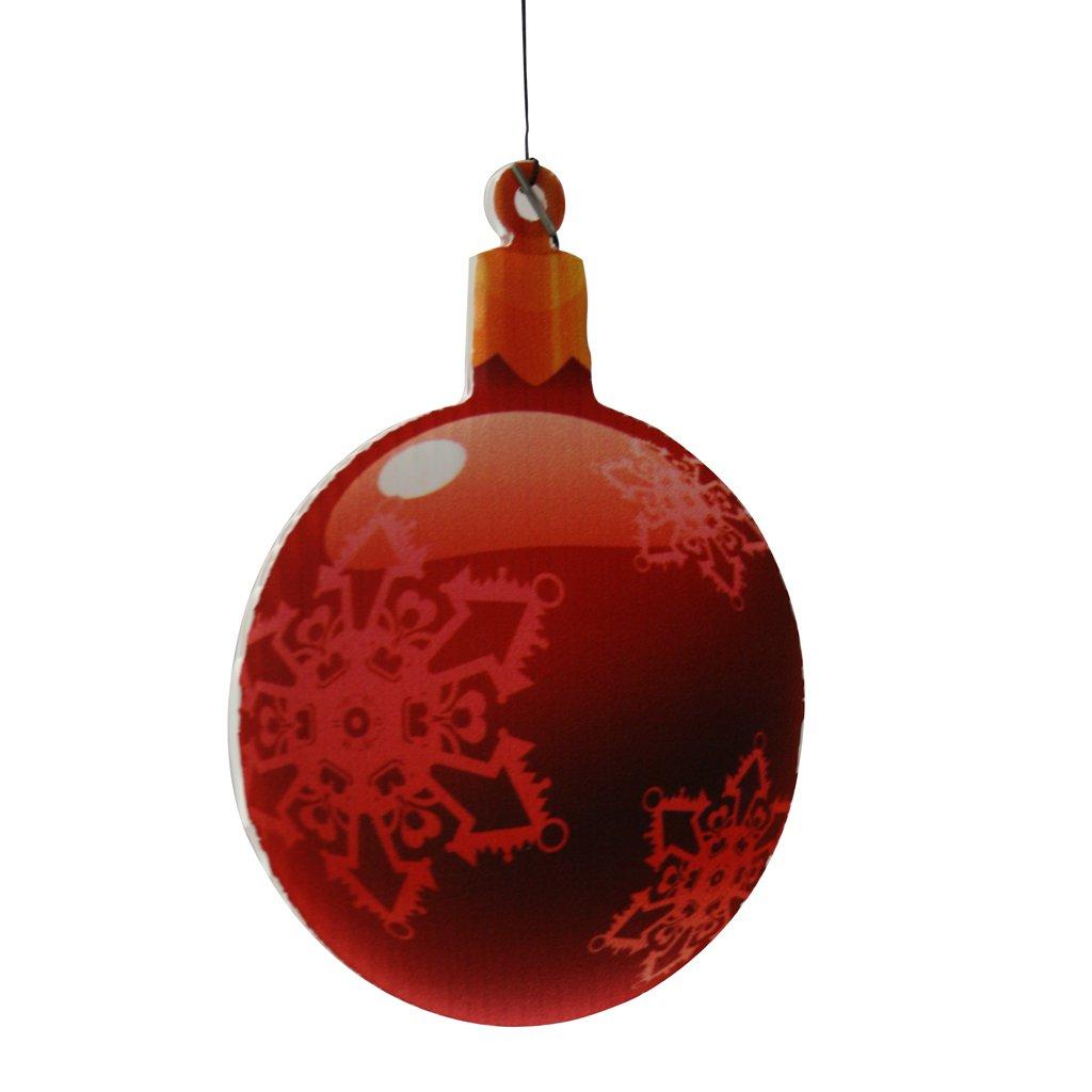 Christmas yard decorations traditional hanging christmas for Outdoor christmas globes