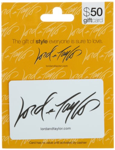 Lord & Taylor Gift Card $50 front-878119