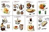 ぷちサンプル 街角のレトロ喫茶店 BOX商品 1BOX = 8個入り、全8種類