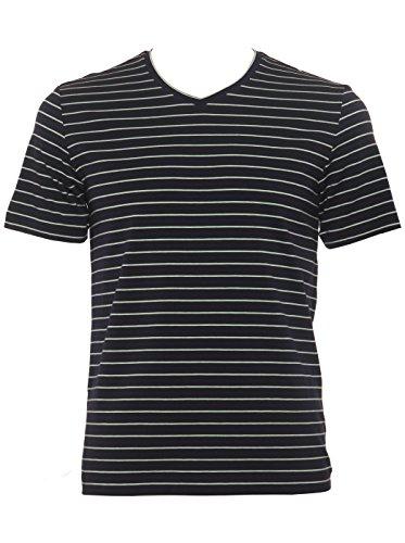 Aimer Men'S Elasticity And Tensile Strength V-Neck Design Short Sleeve T-Shirt L Multicoloured