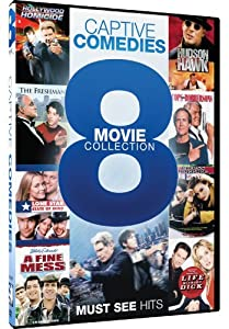 Captive Comedies - 8 Movie Collection - Hollywood Homicide - Hudson Hawk - The Freshman - Cops and Robbersons - Lone Star State of Mind - Excess Baggage - A Fine Mess - Life Without Dick from Mill Creek Entertainment
