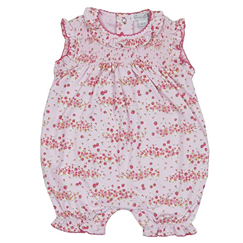 Kissy Kissy Baby Girls' Strawberry Summer Print Slvlss. Short Playsuit-12-18mos