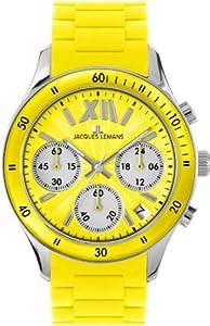 Jacques Lemans Sports Unisex-Armbanduhr Rome Sports 1-1586E