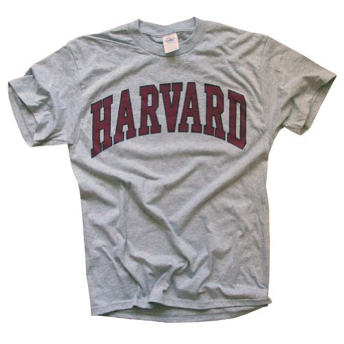 Harvard University T-Shirt, Officially Licensed College Athletic Tee,