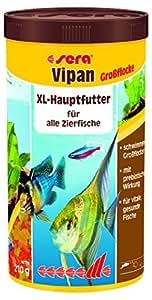 sera vipan Großflocken, Der Klassiker - Flockenfutter für Zierfische in Gesellschaftsaquarien, 1er Pack (1 x 1000milliliters)