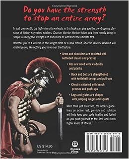 Free spartan workout warrior pdf