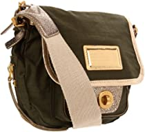 Marc by Marc Jacobs Metallic Military Cadet,Peat Green,one size
