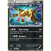 Krookodile Ultra Rare 127/124 Pokemon Dragons Exalted Trading Card