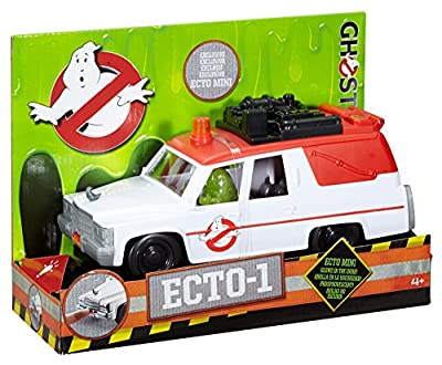 Ghostbusters ECTO-1 Vehicle and Slimer Figure from Mattel - Import (Wire Transfer)