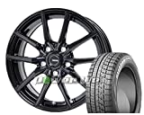 [235/45R18]BRIDGESTONE / BLIZZAK VRX スタッドレス [2/-][HOT STUFF / G.speed G02 (MBK) 18インチ] スタッドレス&ホイール4本セット レクサスGS(10系 ※エアセンサー装着車は適合しない場合があります。お問い合わせ下さい)、レクサスRC(10系 ※エアセンサー装着車は適合しない場合があります。お問い合わせ下さい)、マークX(130系 ※ビックキャリパー車 3.5L&Gz全車)