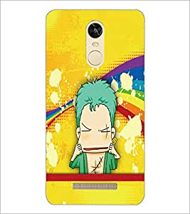 PrintDhaba Cartoon D-5105 Back Case Cover for XIAOMI REDMI NOTE 3 (MEDIA TEK) (Multi-Coloured)