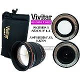 Vivitar 85mm 1.4 Portrait Lens for Sony (VIV-85MM-S)