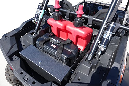 RZ RAX Cargo System for Polaris RZR XP 1000 by PU-Products / Cargo Carrier /Includes Locking Box / Cooler & Fuel Jugs INCLUDED / Email for Cooler Color and Jugs, Red Fuel Jug is CA only, All other States, White, Black or Orange (Polaris Rzr Fuel Can compare prices)