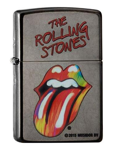 Zippo-Accendino, collezione primavera Rolling Stones 60,002.107 2016, tramonto, colore: grigio
