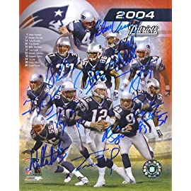 New England Patriots Team Signed Autographed Reprint Photo 8x10 #2