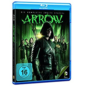 Arrow - Die komplette zweite Staffel (4 Discs) [Import allemand]