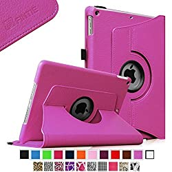 Fintie Apple iPad Air Case - 360 Degree Rotating Stand Case Cover with Auto Sleep / Wake Feature for iPad Air (iPad 5th Generation) 2013 Model, Violet