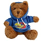 Champion Treasures NCAA Kansas Jayhawks Hoodie Bear