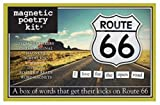 Magnetic Poetry Refrigerator Magnets: Route 66. 3196