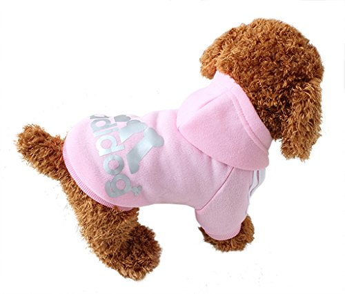 Ashlen Pet Dog Clothes Puppy T Shirt Sweatshirt Hooded Coat Apparel Plus-size (Custom Dog Shirt compare prices)