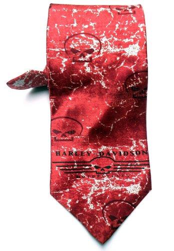 Harley Davidson Willie G Skull Silk Neck Tie (Harley Davidson Supplies compare prices)
