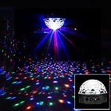 Disco DJ Lichteffekt Kugel LED RGB Licht Projektor Beleuchtung DMX512 Discokugel Bühnenbeleuchtung Party
