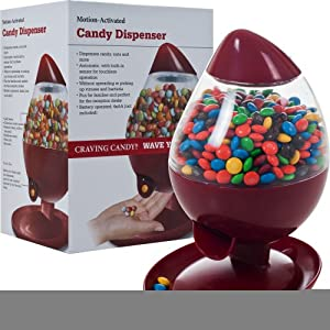 Chef Buddy Motion Activated Candy Dispenser, Red by Chef Buddy