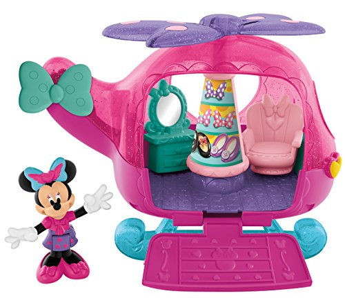 Fisher-Price Disney Minnie Mouse Flyin' Style Helicopter - 1