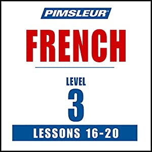 French Level 3 Lessons 16-20 Speech