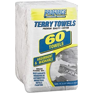 ProForce Terry Towels - 60 ct.