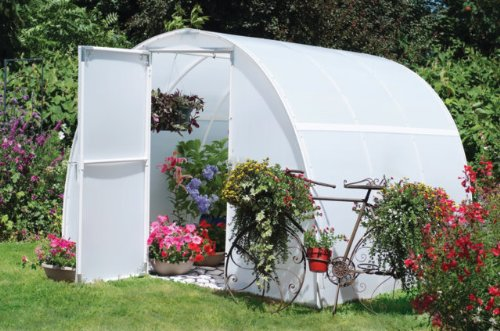 Early Bloomer Greenhouse - Dimensions: 8' x 8' x 6'3 - Solexx - Free Shipping to 48 States (3.5mm thick) dimensions скалистый берег москва