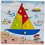 Skillofun Skillofun Theme Puzzle Standard Yatch Knobs Multi Color