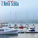 img - for Nova Scotia, Wild & Scenic 2017 - 12inch x 12inch Canada Hanging Square Wall Photographic Nature Planner Calendar (Multilingual Edition) book / textbook / text book
