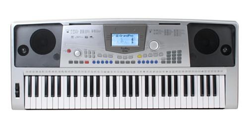 FunKey-61-Teclado-XL-61-teclas-sensibles-128-sonidos-100-ritmos-MIDI-alimentador-de-corriente-atril