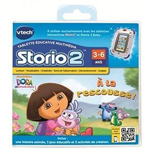 Vtech - 230605 - Storio 2 et générations suivantes - Jeu éducatif - Dora