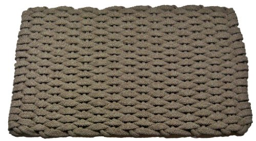 Rockport Rope Doormats 2438224 Indoor and Outdoor Doormats, 24 by 38-Inch, Tan