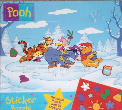Winnie the Pooh 24 Piece Puzzle by Disney - 1