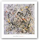 """Number 18, 1950 by Jackson Pollock 24""""x24"""" Art Print Poster"""