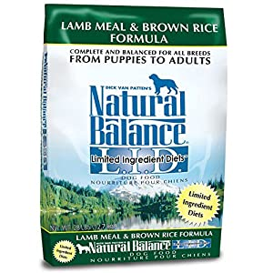 Natural Balance L.I.D. Dry Dog Lamb & Rice 28 lbs
