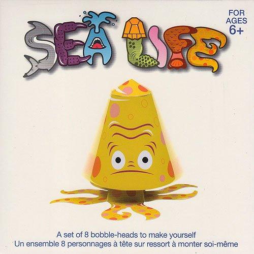 Paper Bobble Head Kit- Sea Life