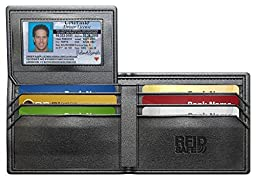 #1 Rated RFID Blocking Wallet + 2 RFID Blocking Sleeves - Genuine Leather - Excellent Quality - Stylish - Bifold - Credit Card Protector - Buy With Confidence