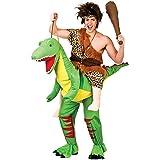 Giant Ride-On Dinosaur Costume Caveman Fancy Dress