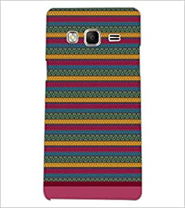 PrintDhaba Tribal Pattern D-1672 Back Case Cover for SAMSUNG Z3 (Multi-Coloured)