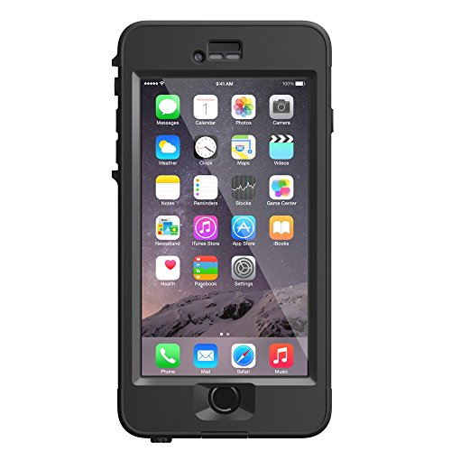 日本正規代理店品・保証付LIFEPROOF 防水 防塵 耐衝撃ケース nuud for iPhone6 Plus Black LP6PB