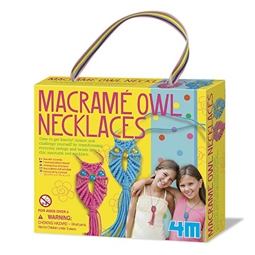 4M Macramé Owl Necklace Kit