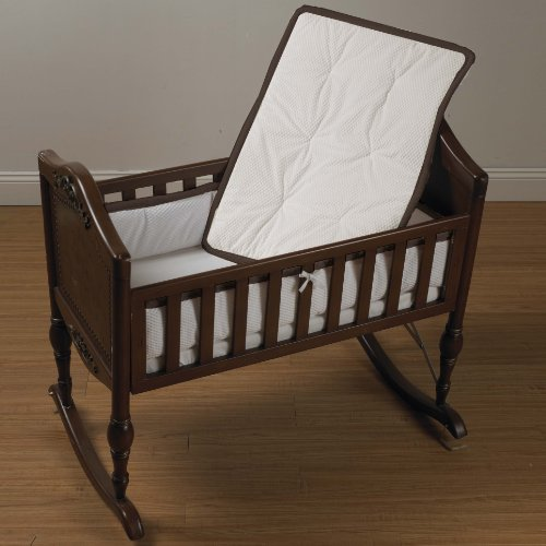 Baby Doll Bedding Minky Diamond Port-a-Crib Bedding Set, Chocolate