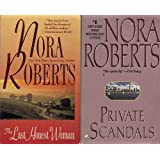 Set of 2 Nora Roberts Novels: The Last Honest Woman and Private Scandals
